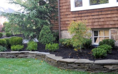 landscaping_with_stone_wall_cherry_hill_nj