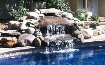 poolside_waterfall_hardscaping_cherryhill_nj